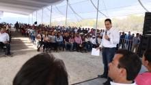 Inaugura Omar Fayad obras importantes para habitantes de la Misión y Jacala5