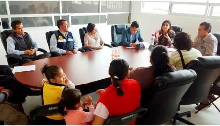 INHIDE sostiene reunión con padres de familia de judo