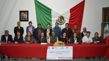 Instalan en Tizayuca el Comité Municipal de Salud5