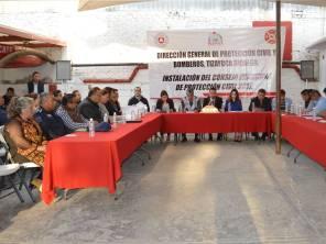 Instalan en Tizayuca el Consejo Municipal de Protección Civil1