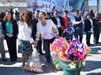 Llevan a cabo desfile conmemorativo y Primera Muestra Artesanal 1