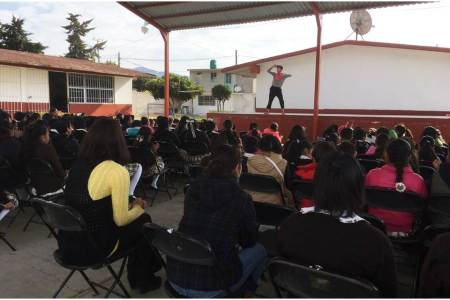 Llevan mensajes sobre cultura de la legalidad a municipios y centros educativos2