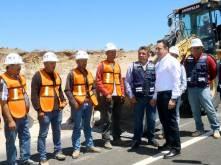 Más de 306 mdp para reconstruir y modernizar vías de comunicación de Huichapan y 2