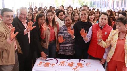 """Por día naranja, SEPH realiza la actividad """"Cada Mano Cuenta""""3"""
