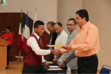 Premiación de la XXX Olimpiada de Matemáticas en UAEH