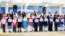 Raúl Camacho encabeza lunes cívico en escuelas de Mineral de la Reforma2