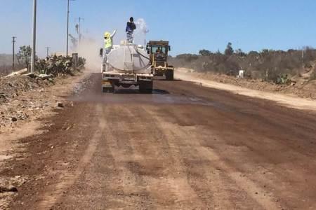 Reconstruyen pavimento asfáltico en la carretera estatal Santa María Tecajete a Zempoala2