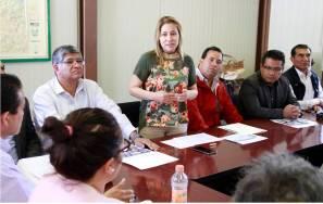 Sayonara Vargas participó en el Consejo Técnico Regional no. 10 de Huichapan2