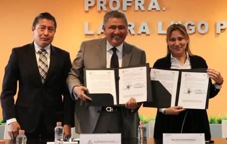 SEDESOL Delegación Hidalgo firma convenio con SEPH para validar el primer 1