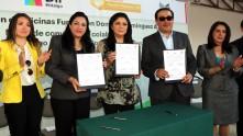 Sistema DIF Hidalgo firma convenio de colaboración con la Fundación Domitila3