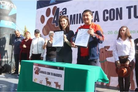 SSH y su voluntariado realizan la Cuarta Caminata con tu Mascota2