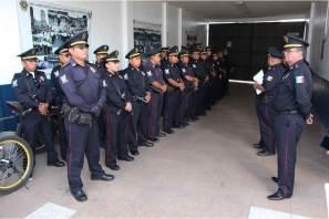 Apoyarán policías bancarios en vigilancia y proximidad en zona metropolitana de Pachuca