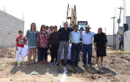 Arranca la CAAMTH la introducción del drenaje sanitario de la colonia Campestre en Tizayuca2