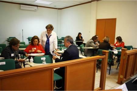 Asesoras de la Suprema Corte imparten talleres a magistrados y jueces