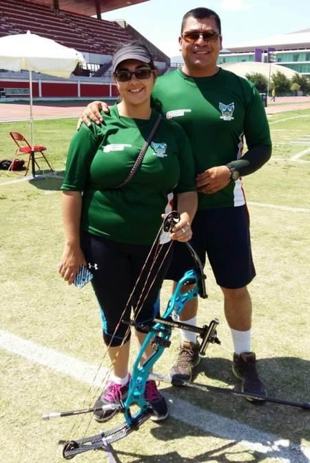Brenda Merino,  segundo lugar en la Selección  Nacional de tiro con arco.jpg