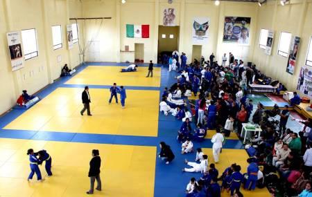 CEAR recibe campamento de preparación de judo