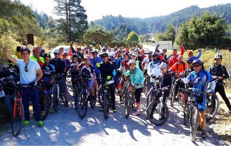 Conmemoran Día Mundial de la Bicicleta con paseo en la montaña.jpg