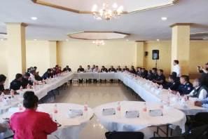 Coordinación operativa entre instituciones de Hidalgo para reforzar la seguridad pública