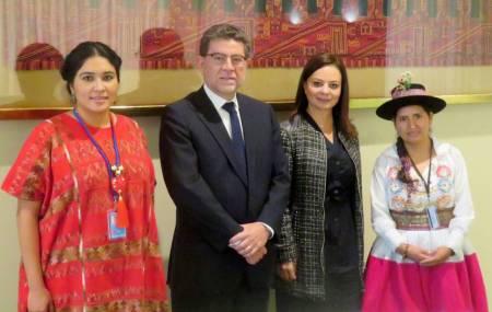 En la ONU México y Perú comparten experiencias en la atención de sus pueblos indígenas.1.jpg