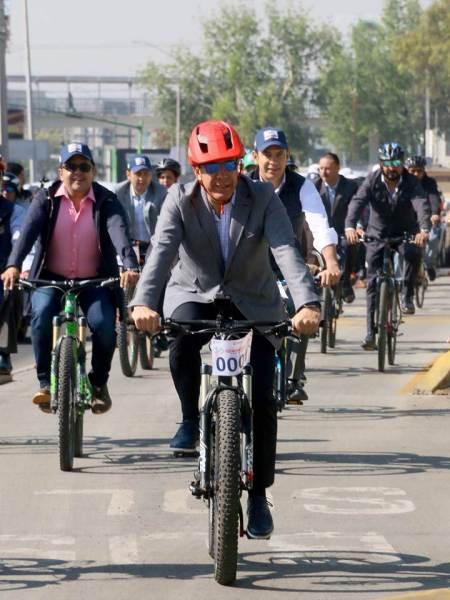 """Encabeza Omar Fayad """"Rodada por la Movilidad"""" en el marco del Día Mundial de la Bicicleta"""