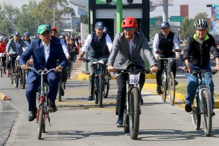 """Encabeza Omar Fayad """"Rodada por la Movilidad"""" en el marco del Día Mundial de la Bicicleta2"""