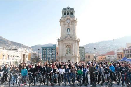 Facilitan renta de bicicletas híbridas en Pachuca