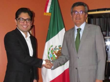 Hidalgo y la República de Perú analizan sinergias en temas económicos y comerciales1