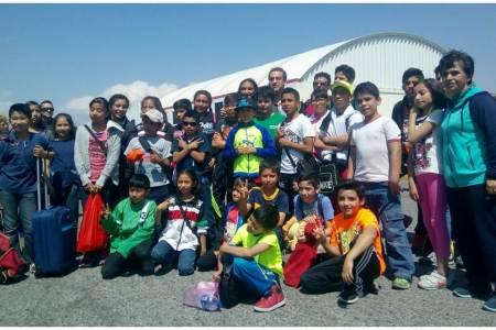 Judokas hidalguenses participan en competencia que se realiza en Campeche