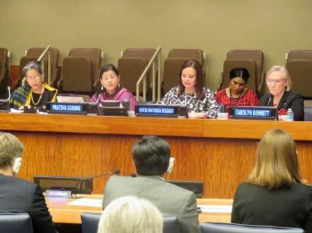 Nuvia Mayorga Delgado participa en la ONU