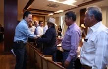 Omar Fayad refrenda su compromiso de provocar un cambio positivo en el agro hidalguense 2
