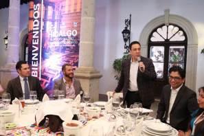 Principales empresarios del ramo inmobiliario industrial a nivel mundial, conocieron estrategia de desarrollo económico de Omar Fayad