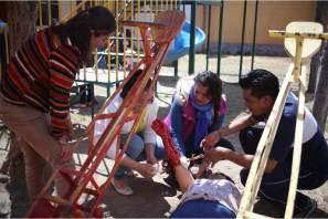 Raúl Camacho reconoce a personal del DIF Municipal, tras concluir curso de primeros auxilios