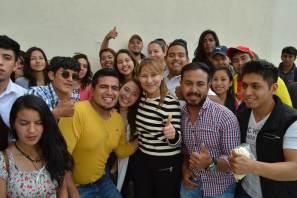 Sayonara realizó una interacción didáctica con estudiantes de la Universidad Politécnica de Tulancingo3