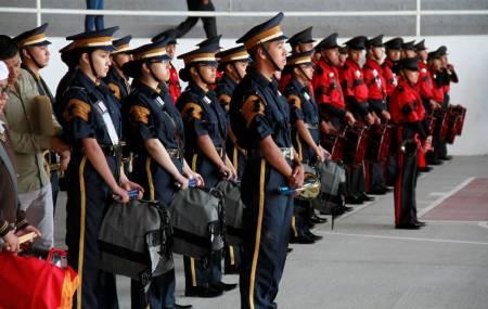 SEPH realiza Décimo Concurso Estatal de Bandas de Guerra
