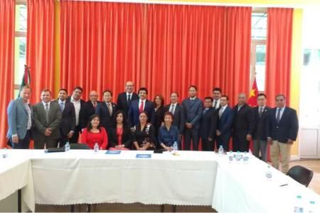Alcaldesa de San Salvador culmina gira por China