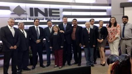 Arturo Sosa fue electo vicepresidente de la Asociación Mexicana de Fiscales Electorales Locales