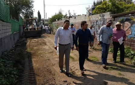 Autoridades municipales de Tizayuca liberan servidumbre de paso en el fraccionamiento Marbella1