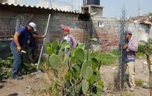 Autoridades municipales de Tizayuca liberan servidumbre de paso en el fraccionamiento Marbella4