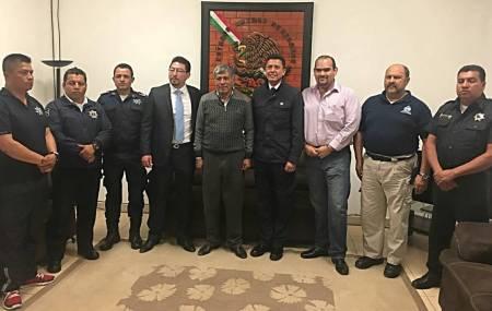 Capacitan a elementos de la Policía Municipal de Tizayuca en instrucción Táctica y Policial1.jpg