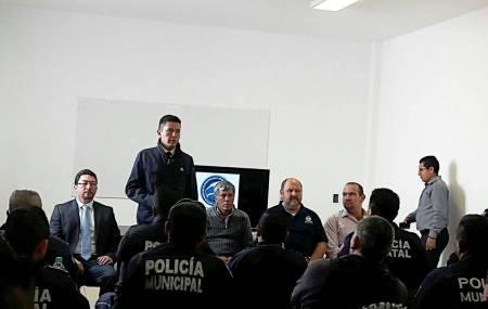 Capacitan a elementos de la Policía Municipal de Tizayuca en instrucción Táctica y Policial2.jpg