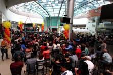 Celebra Día del Niño Voluntariado UAEH con acróbatas y bailarines5