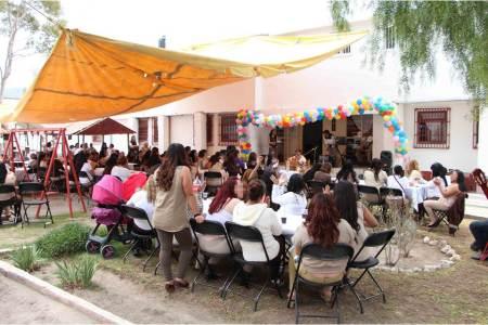 Celebran Día de las Madres en Cereso de Pachuca2