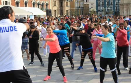 DIF Pachuca festeja Día de las Madres con macro activación física 4