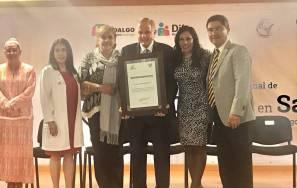 Directora del Sistema DIF Hidalgo preside el Tercer Congreso Internacional de Calidad en Salud3