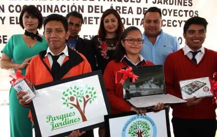 Eligen logo para identificar a la Dirección de Parques y Jardines del municipio de Tizayuca3