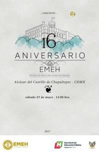 ESCUELA DE MÚSICA DEL ESTADO DE HIDALGO FESTEJA SU 16 ANIVERSARIO3