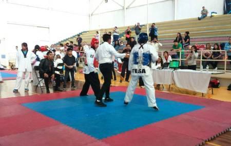 Estudiantes del ITESA participan en primer en torneo en pro de la marcialidad 1