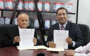 Firma de convenio entre Liconsa Hidalgo y Canacintra Tulancingo 3