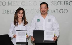 Firman IMSS Hidalgo y Tamaulipas convenio de colaboración 2