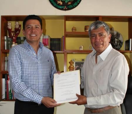 Gabriel García Rojas nombra a Edwin Hernández Garrido1